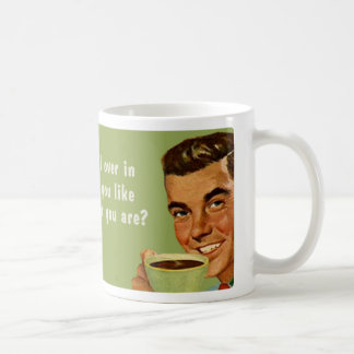 vem som är du kaffe mugg
