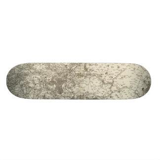 Vendome Mini Skateboard Bräda 18,5 Cm