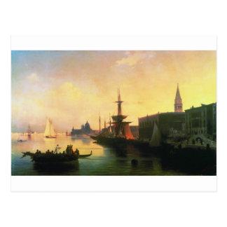 Venedig av Ivan Aivazovsky Vykort