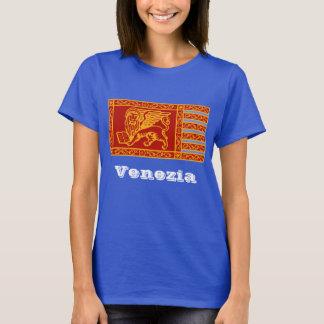 Venedig flagga tee shirts
