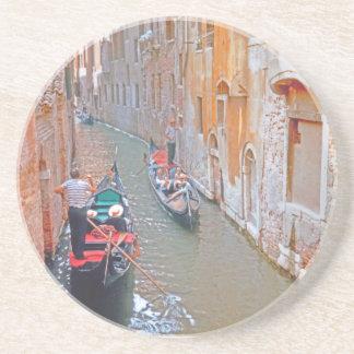 Venedig - Gondolier Underlägg Sandsten
