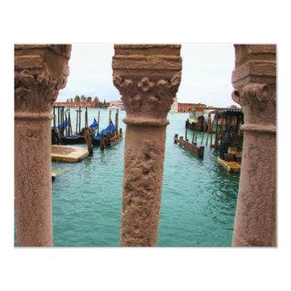 Venedig italien 10,8 x 14 cm inbjudningskort