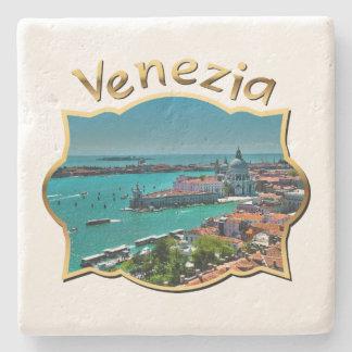 Venedig italien - antennen beskådar stenunderlägg