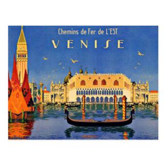 Venedig reser vykort
