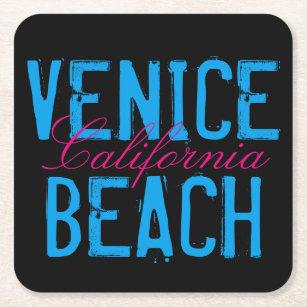Venedig strand Kalifornien Underlägg Papper Kvadrat