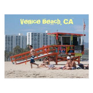 Venedig strandvykort! vykort