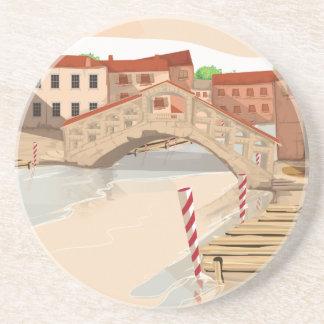 Venedig Underlägg Sandsten
