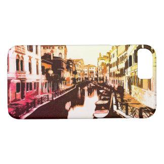 Venedig Venedig panoramaregnbåge Popart
