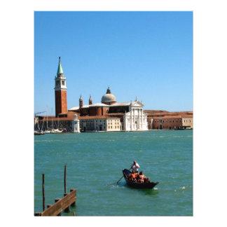 Venetian blått reklamblad