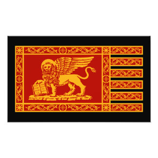Venetian flagga fototryck