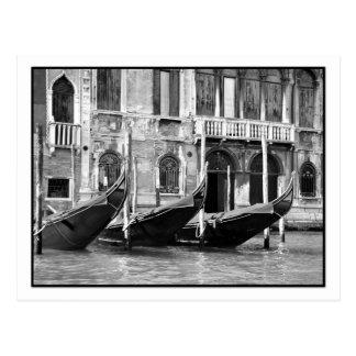 Venetian gondolvykort vykort
