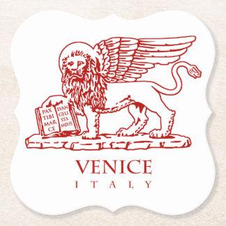 Venetian lejont underlägg papper