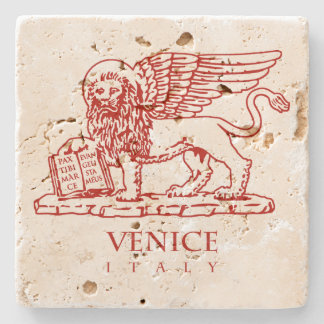 Venetian lejont underlägg sten
