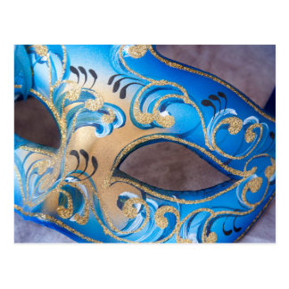 Venetian maskera 2 vykort