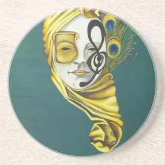 Venetian maskera underlägg