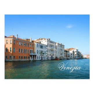 Venezia Gran kanalvykort Vykort