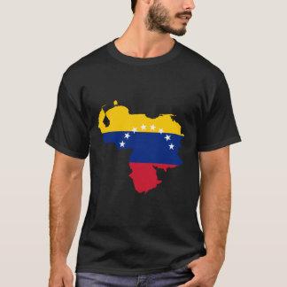 Venezuela flaggakarta tshirts