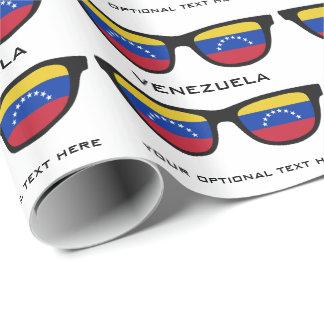 Venezuela skuggar den beställnings- text- & presentpapper