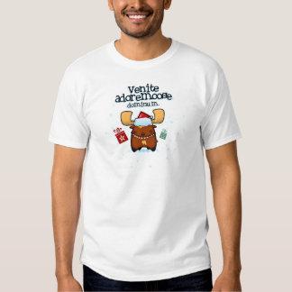 Venite Adoremoose T-shirt