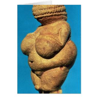 Venus av Willendorf Hälsningskort