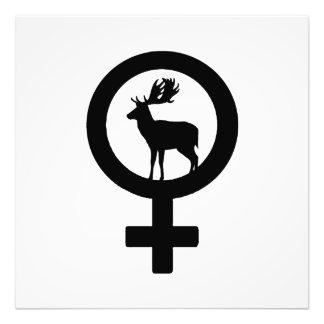 Venus hjort fototryck