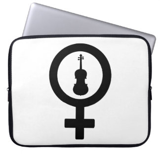 Venus Viola Laptop Sleeve