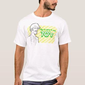 Verklig 70-tal t shirts