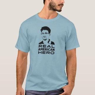 Verklig amerikanhjälte t-shirt