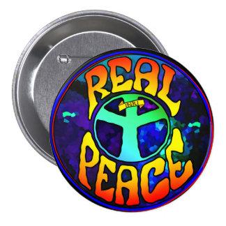 Verklig fred mellanstor knapp rund 7.6 cm