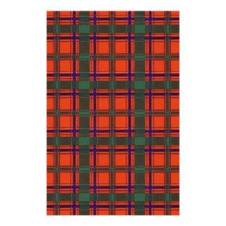 Verklig skotsk tartan - Dalzell - som dras av Brevpapper