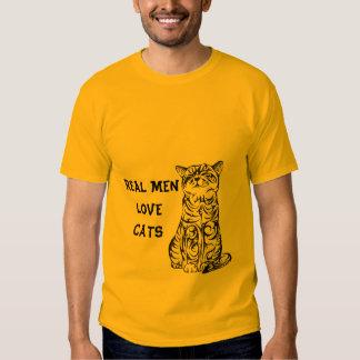 VERKLIG T-tröja för MANARKÄRLEKKATTER Tshirts