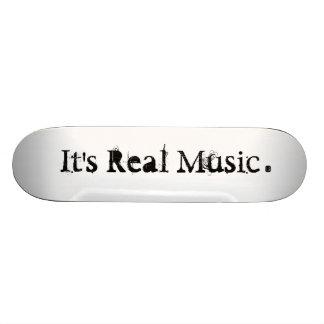 Verkliga Music® Mini Skateboard Bräda 18,7 Cm