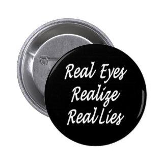 Verkliga ögon standard knapp rund 5.7 cm