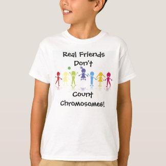 Verkliga vänner tee shirts