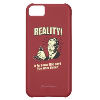 Verklighet: För förlorare iPhone 5C Fodral