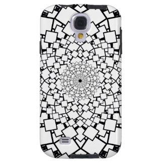 Verklighet kvadrerad Mandala Galaxy S4 Fodral