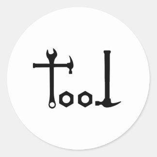 Verktyg - verktyg runt klistermärke