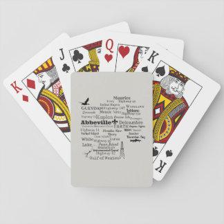 Vermilion församlingstäder och ställen som leker casinokort