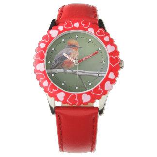 Vermillion Flycatcher Armbandsur