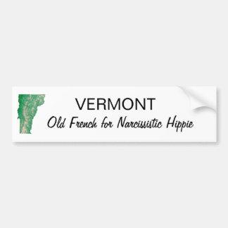 Vermont Hippie Bildekal