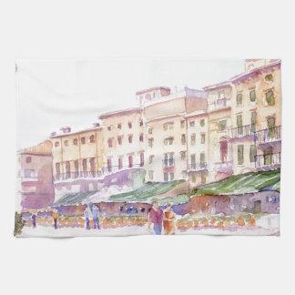 Verona italien kökshandduk
