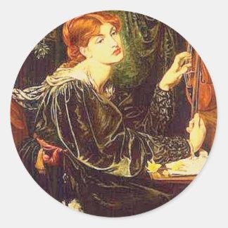 Veronica Veronese, konst Runt Klistermärke