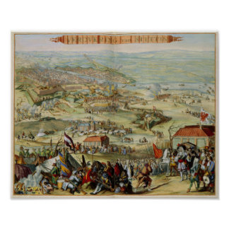 VEROVERING skåpbil STETTIN - Siege av Stettin Poster