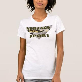 VERSAGE-kvinna Racerback T-tröja Tröja