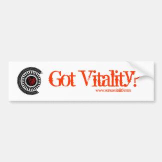 VersusVitality harvitalitet? Bildekal