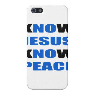 vet att Jesus vet fred iPhone 5 Cover