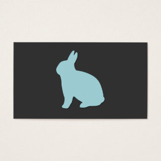 Vet/djur älskare/kanin/kanin visitkort