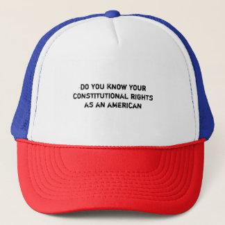 vet du ditt konstitutionell rättighetbolllock keps