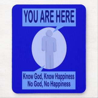 Vet guden, vet lyckan. Ingen gud, ingen lycka Musmatta