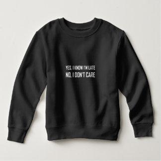 Vet ja att bry sig sent inte tshirts
